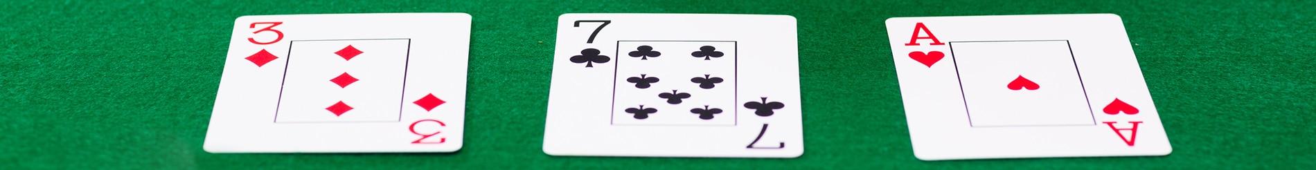 3 card poker banner